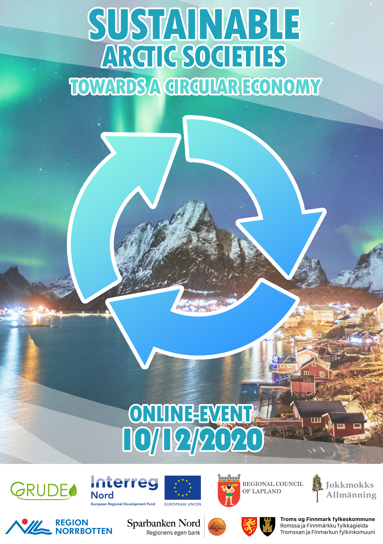 Sustainable Arctic Societies – Towards Circular Economy online-event 10/12/2020