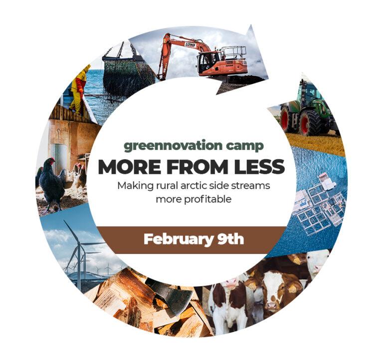 Greennovation Camp flyer