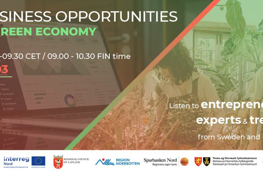Business Opportunities in Green Economy 17/3/2021