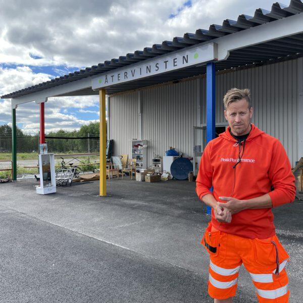 Återvinningscentralen i Jokkmokk & butiken Återvinsten