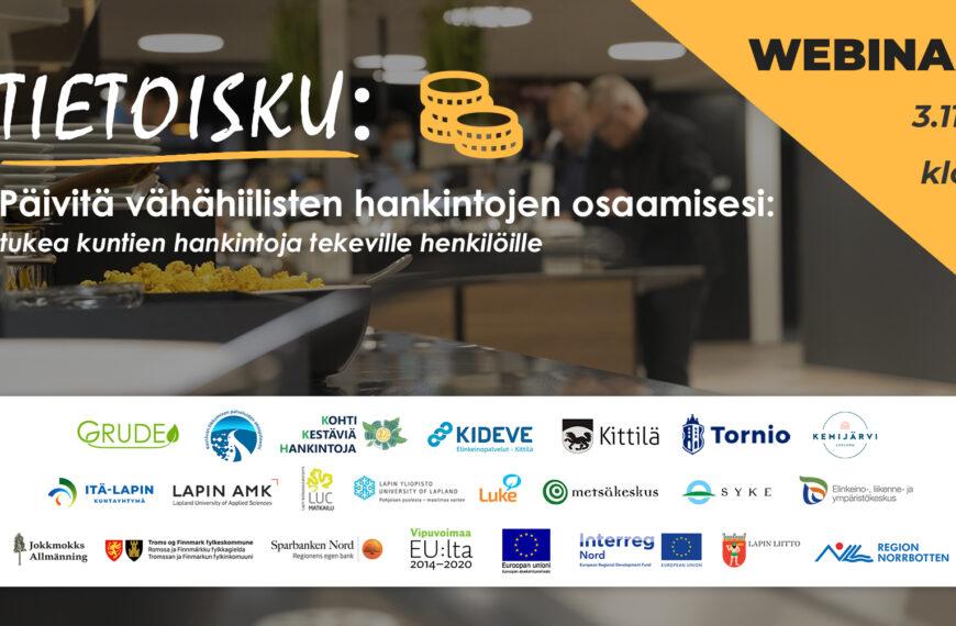 Tietoisku: Päivitä vähähiilisten hankintojen osaamisesi 3/11/2021